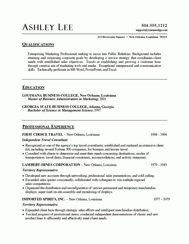 Sample Resume Summary Effective Chef Resume Template And - summary of qualifications resume examples