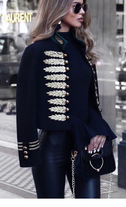 I love this blazer style
