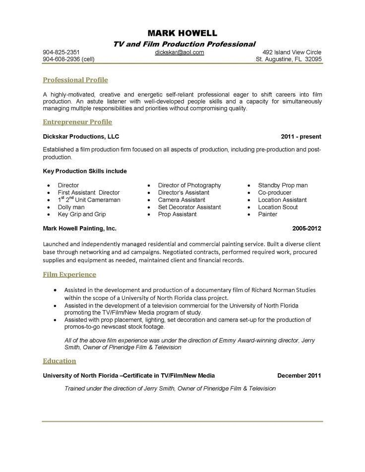 film director resume top 8 film director resume samples 1 638 jpg