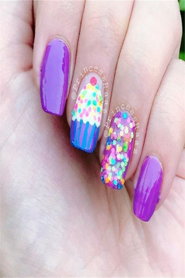 Birthday Party Nail Art amazing designs You Must Try – Fashonails