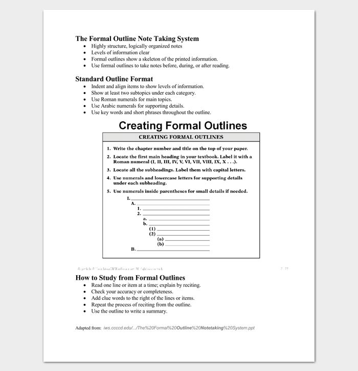 113 best outline templates create a perfect outline images on ...
