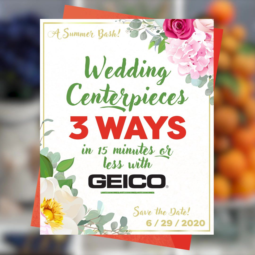 Wedding Centerpieces 3 Ways In 15 Minutes Or Less