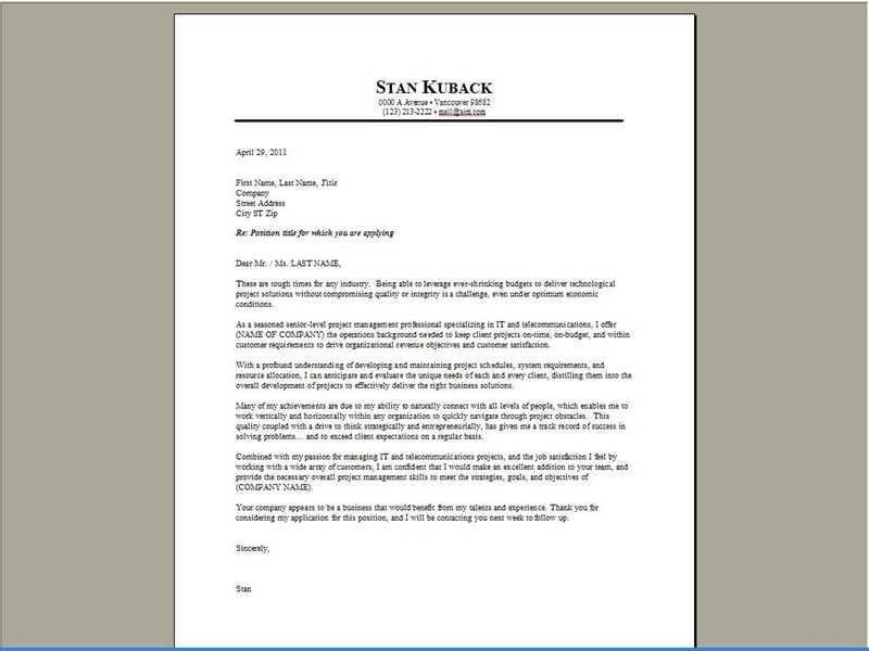 Jimmy Sweeney Cover Letter Samples How Resumes  Jimmy Sweeney Cover Letters
