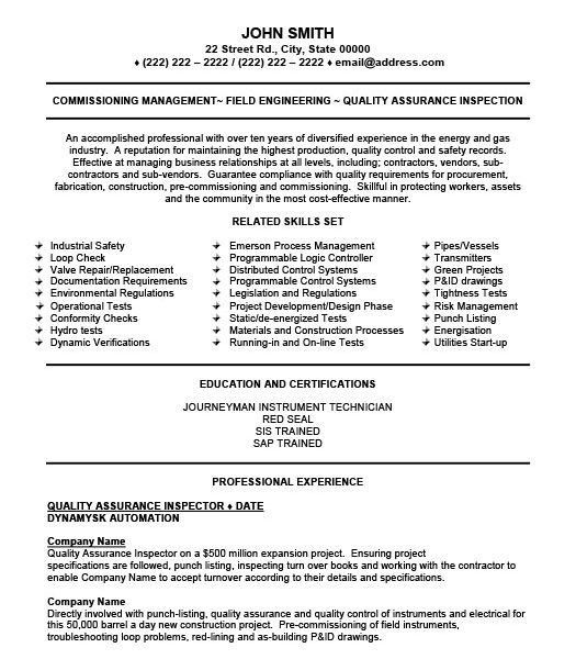 instrument technician cover letter - Yatay.horizonconsulting.co