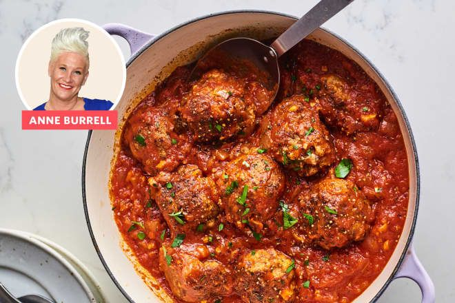 Anne Burrell's Meatballs Have Hundreds of 5-Star Reviews — And They're Worth the Hype