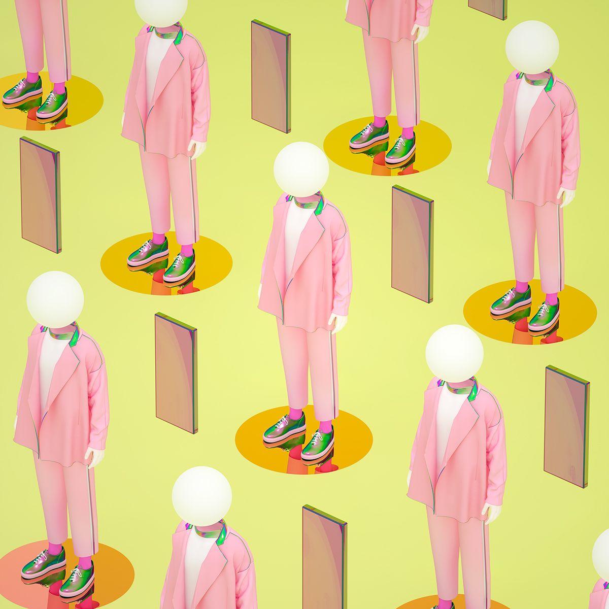 Chinese and Korean-inspired 3D art by Kim Yeonhee