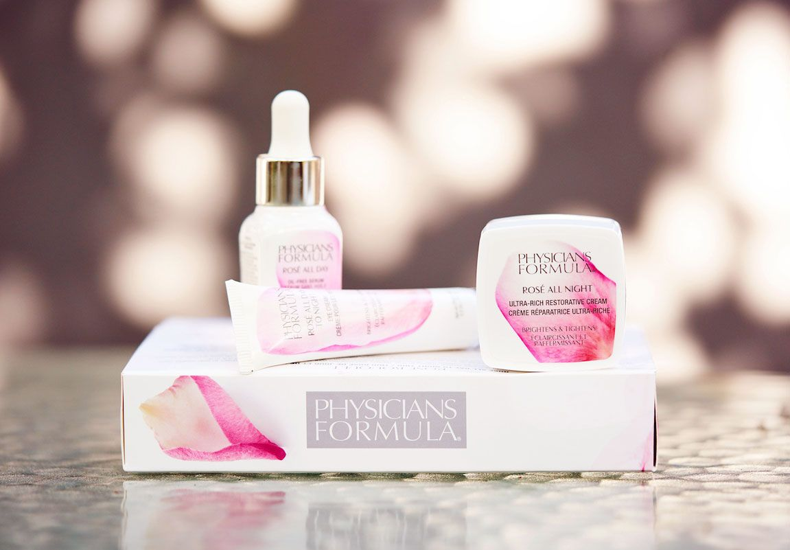 AD Physicians Formula limited edition Rose Bouquet rose skincare gift set review