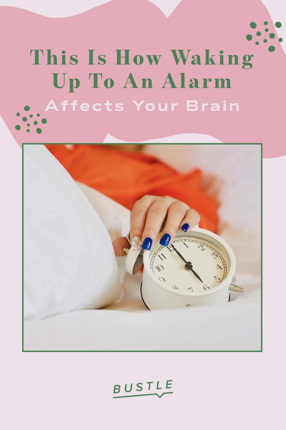 This Is How Waking Up To An Alarm Affects Your Brain