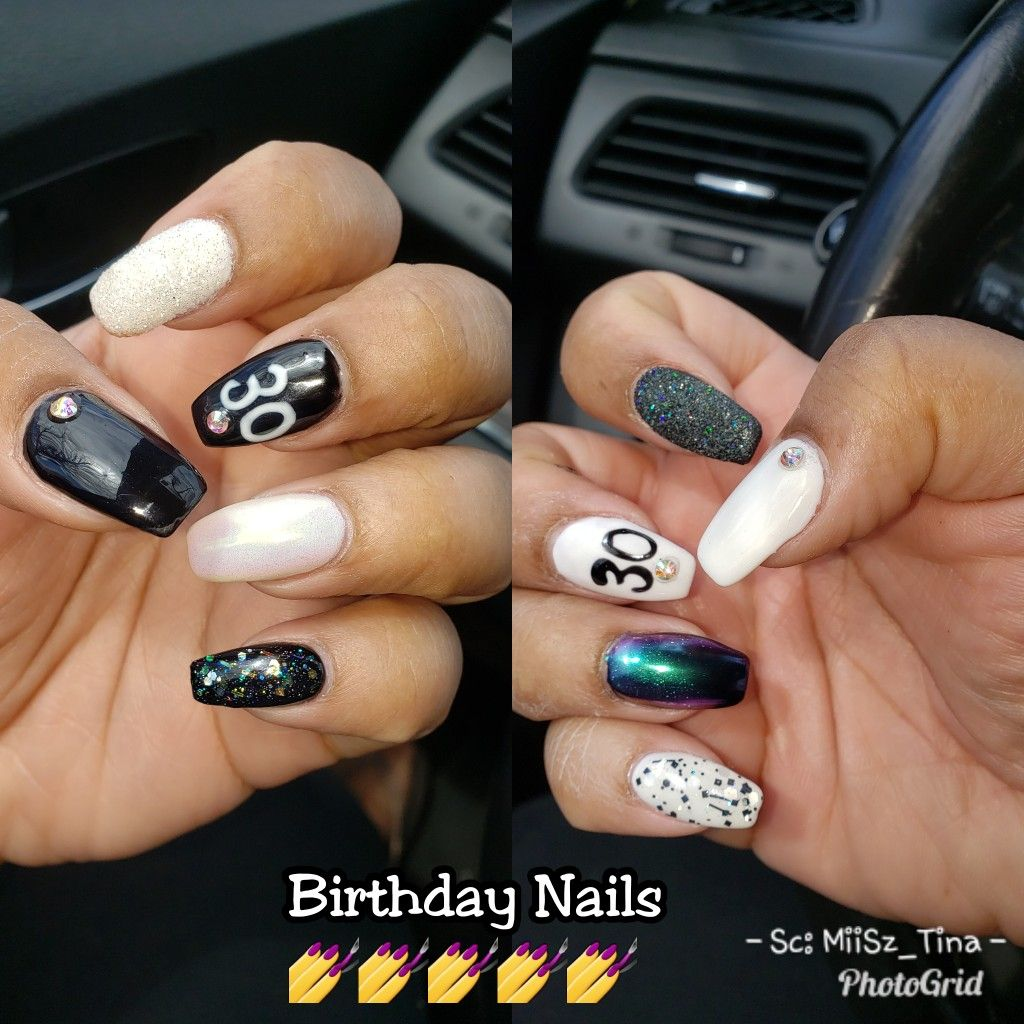 My Birthday Nails My Nails Stay On Point