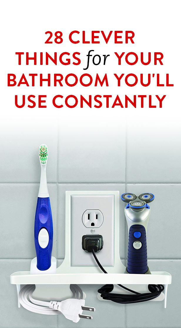 28 Clever Things For Your Bathroom You'll Use Constantly