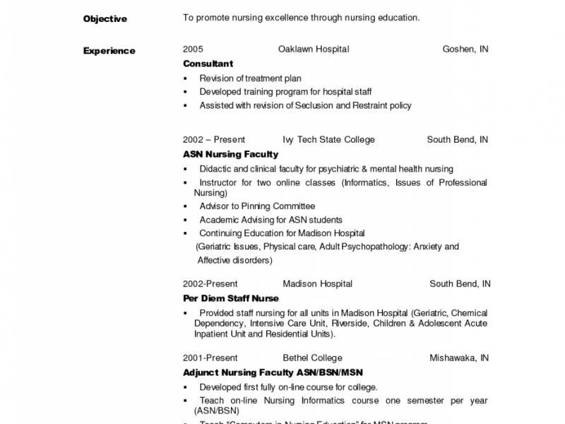 Nicu Nurse Resume Professional Nicu Nurse Templates To Showcase - mental health nurse resume