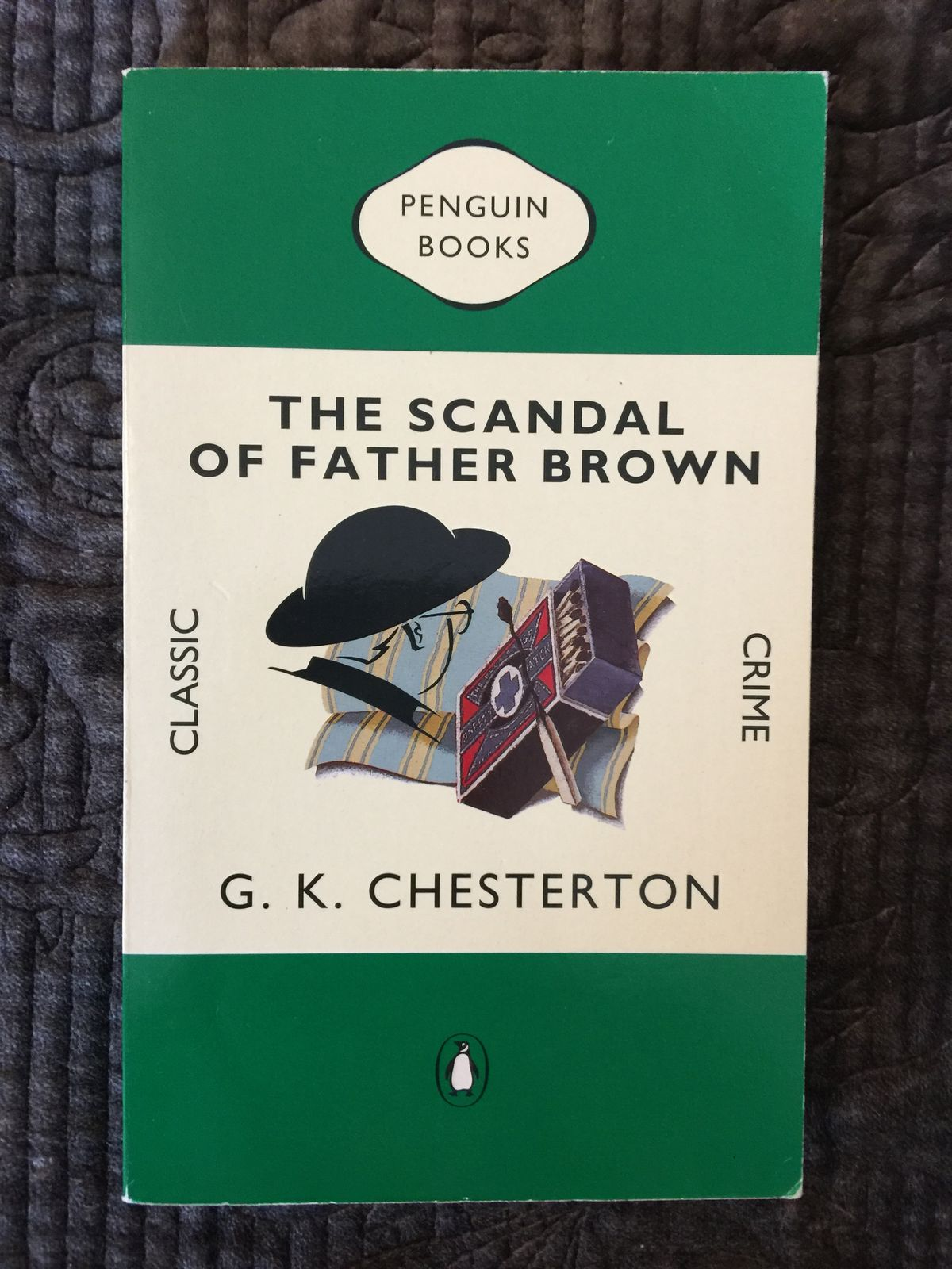 G k chesterton the scandal of father brown vintage style