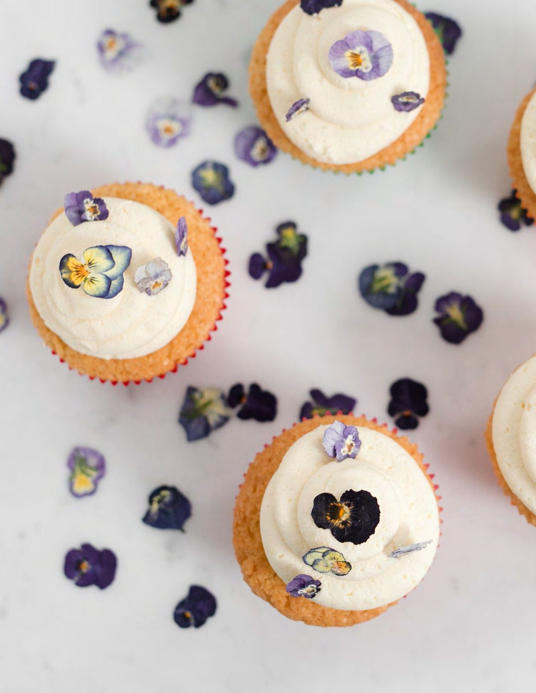 Orange Blossom Cupcakes with Dried Violas – Issuu