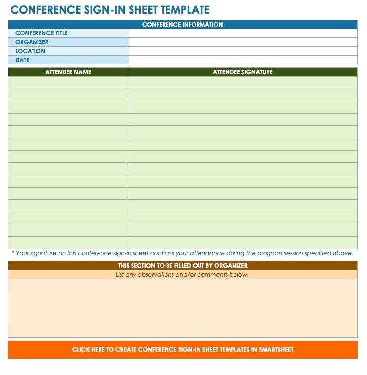 class sign up sheet template cvresumecloudunispaceio - conference sign up sheet template