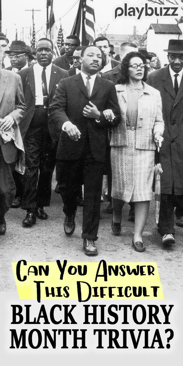 Can You Answer These Difficult Black History Month Trivia Questions Correctly?