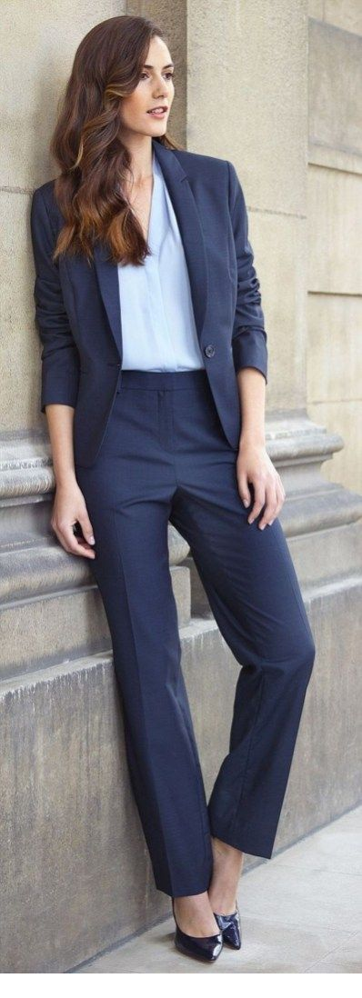 Nice navy office look
