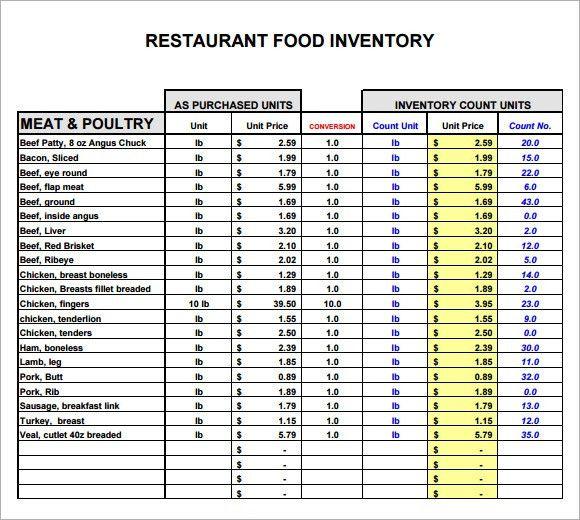 inventory list form node2002cvresumepaasprovidercom