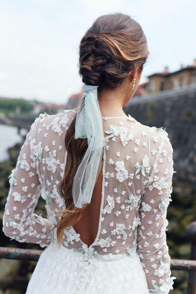 Wedding hairstyle – Las Bodas de Tatín. #recogido #semirecogido #sencillos #trenzas #coleta #peinadonovia #peinadoinvitada #peinadobohemio #bride #weddingphotography #wedding #bodas