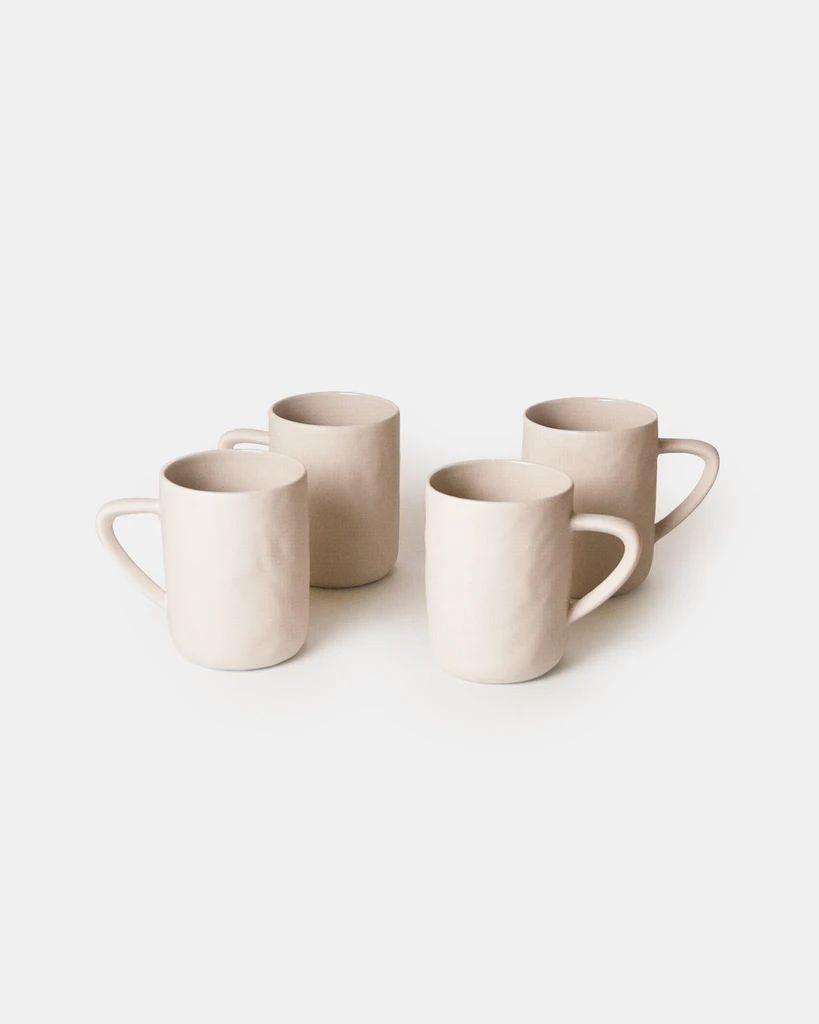 Stoneware Mug - WhiteBe Home – Go Gently Nation