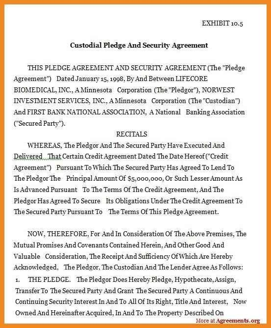Custody Agreement Examples 10 Custody Agreement Templates Free - parenting plan example