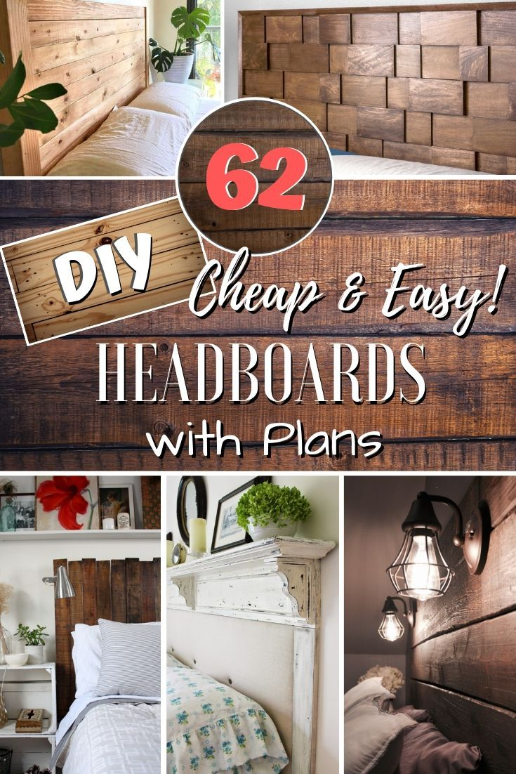 105 Easy DIY Headboards You Can Build on a Budget