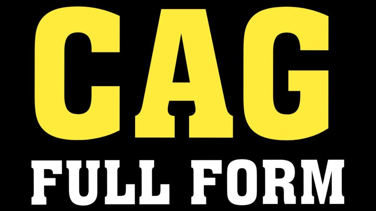CAG Full Form Name