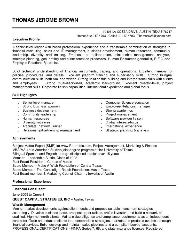 Employee Relation Manager Resume] Top 8 Employee Relations Manager