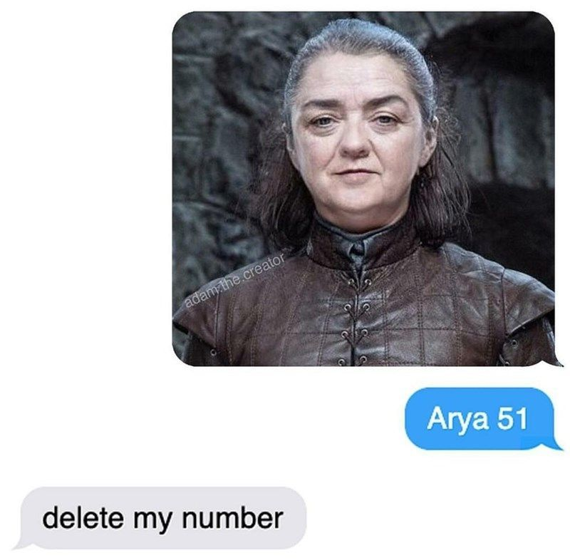 The best meme mashup in history. #Area51 #Memes #AryaStark #GameOfThrones #TVShow #TVSeries