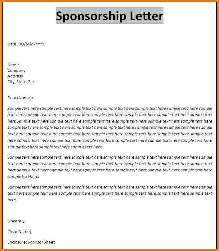 How To Write A Sponsor Proposal Sponsorship Proposal Strategies - athlete sponsorship proposal template