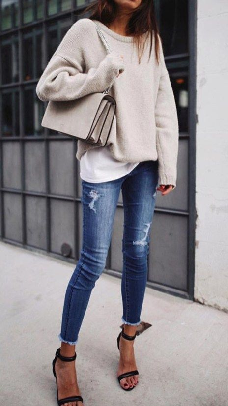 Simple But Nice Fall Outfis Ideas33