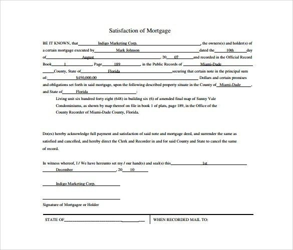 Free Liability Release Forms Printable Online Printable Sample - release of mortgage form