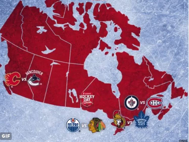 This will be fun. #HockeyDay
