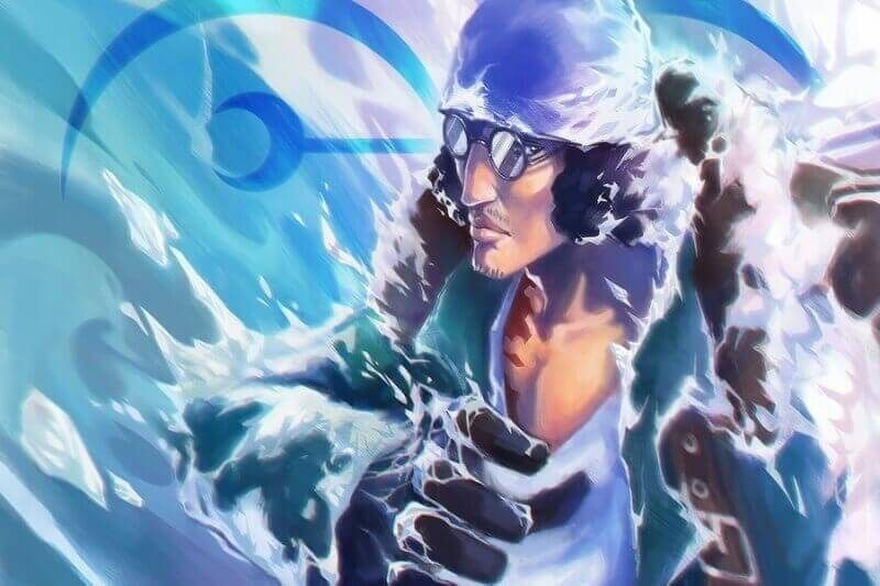 Aokiji, Angkatan laut yang menjadi bajak laut
