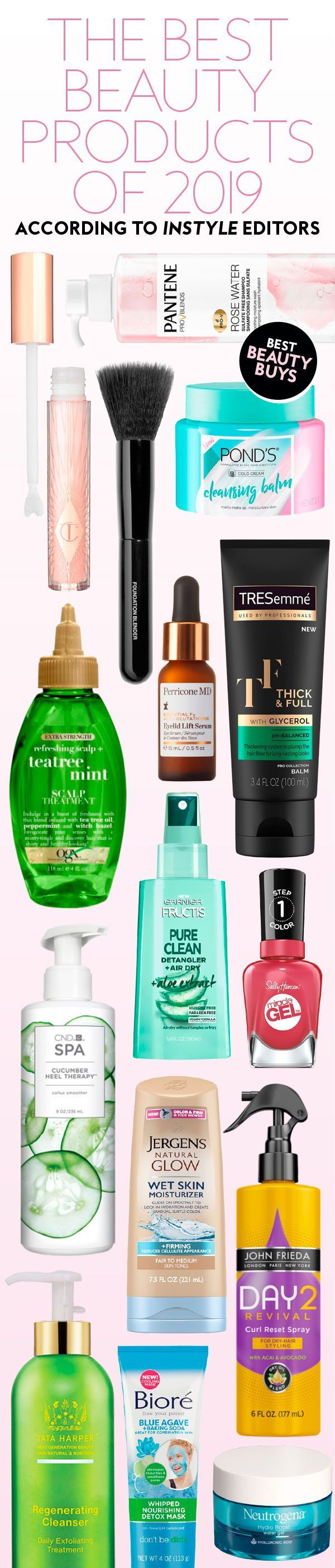 The best #beauty products of 2019, according to #instyle editors. #bestbeautybuys#2019beautytrends#editorspicks