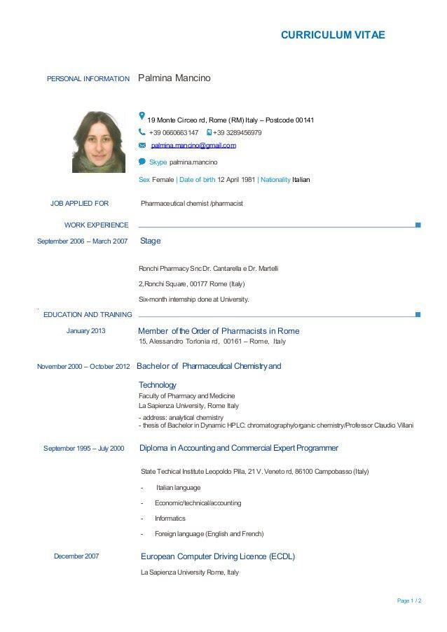 Resume Language Skills Example Free Resume Templates