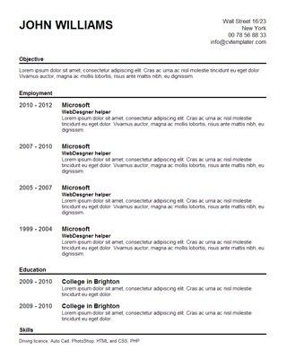 ... Free Resumes Online Templates Make A Resume Online Template   Create  Resume Online Free ...