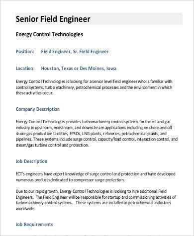 job description director of engineering