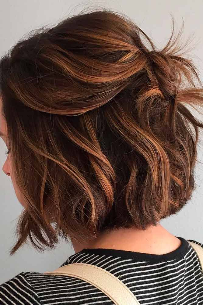 Quick And Easy Short Hairtyles ★ Sexy short hairstyles are the answer for those who wonder which type of haircut is the best. Forget about waking up earlier only to fix your hair! #glaminati #lifestyle  #shorthairstyles