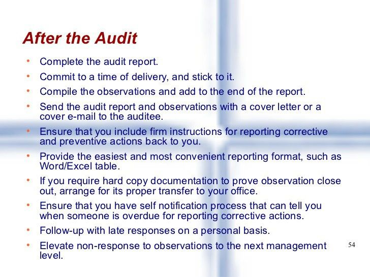 External Audit Report Template Sample 8  External Audit Report Template