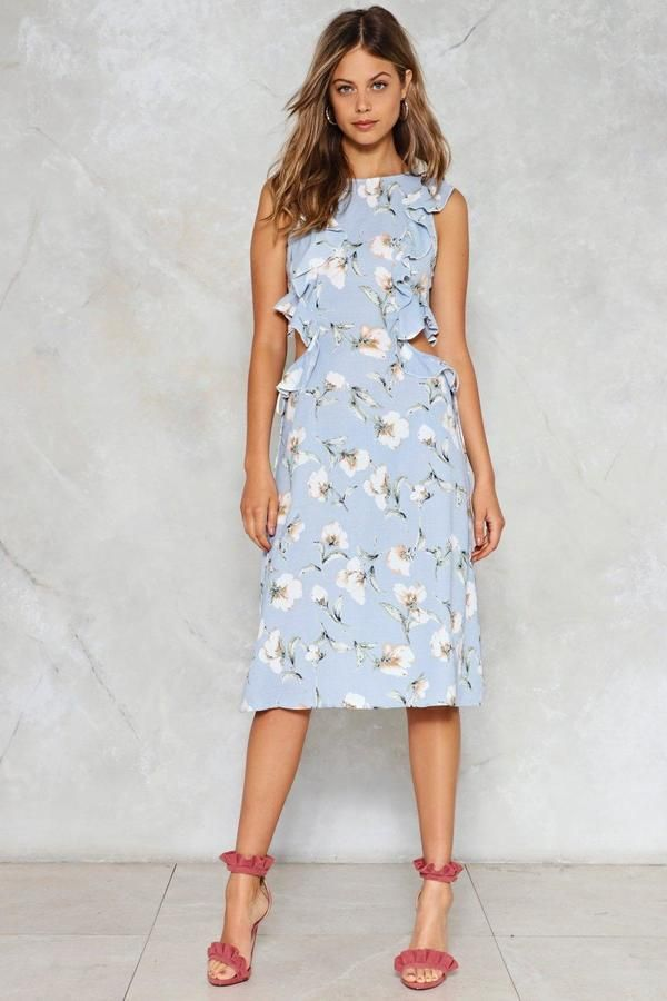 Nasty Gal nastygal Morning Glory Floral Dress