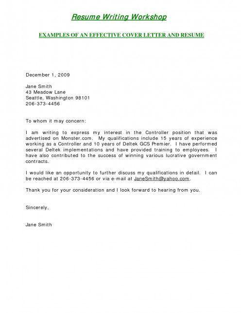 Short Cover Letter For Job Application Sample Teacher Cover - short cover letter sample