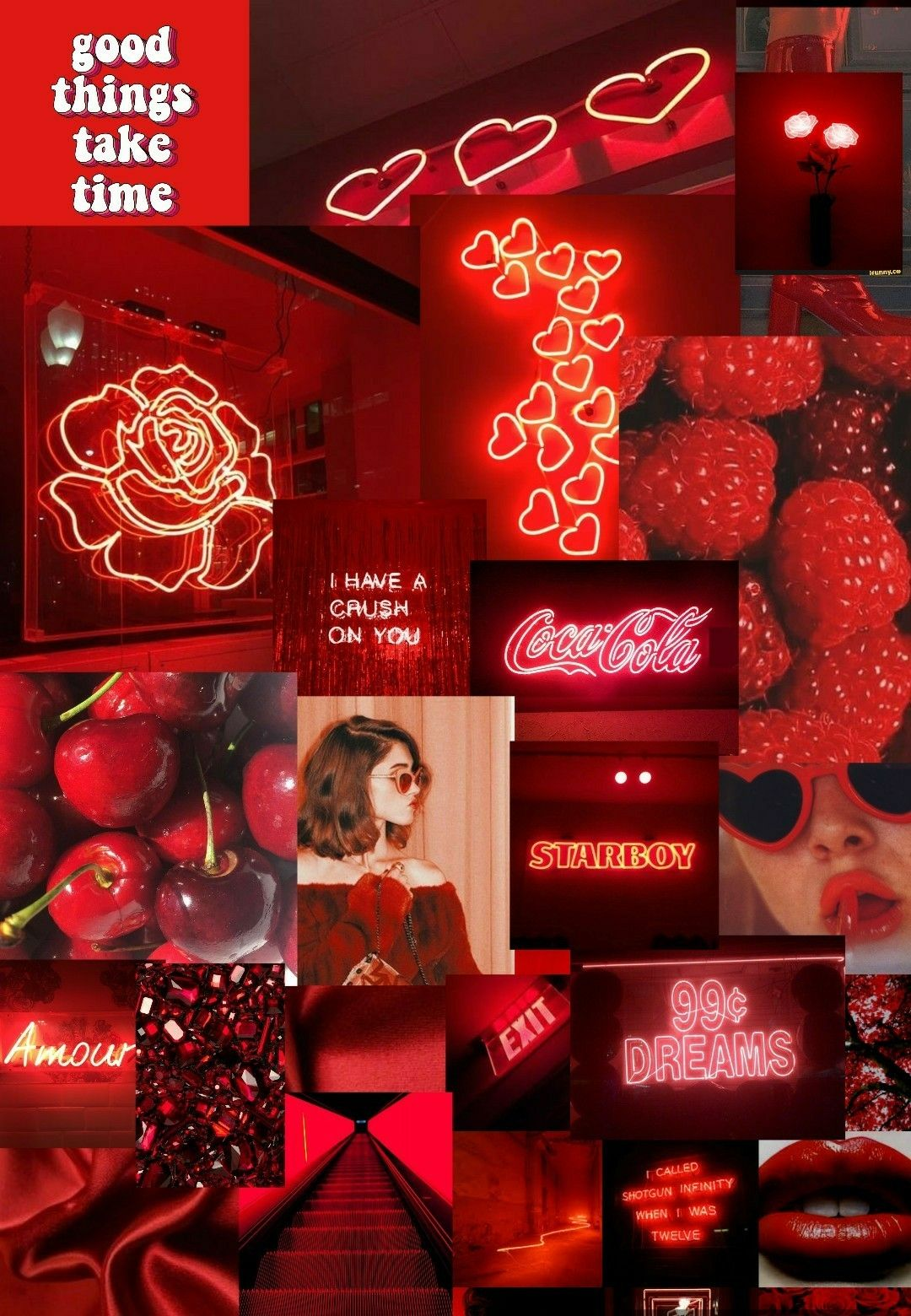 Red Aesthetic Pictures Pinterest