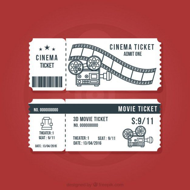 Movie Ticket Template Free Download 40 Free Editable Raffle Movie - movie ticket template