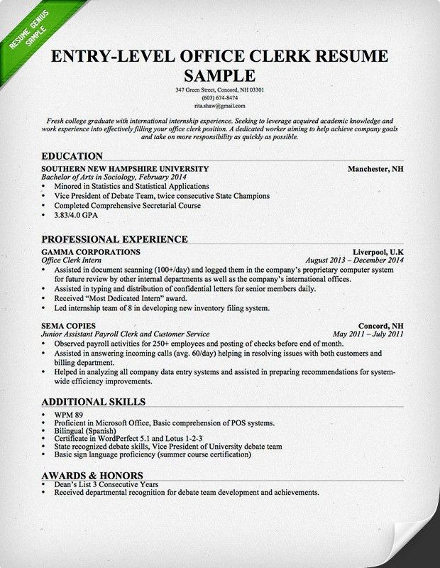 Mail Processor Sample Resume Top 8 Mail Processing Clerk Resume - mail processor sample resume