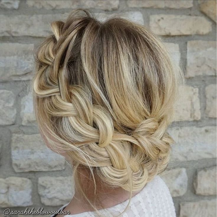 """Gorgeous Braided Updo Hairstyle. Gorgeous hairstyle for day or night! Gorgeous Hair Color! 