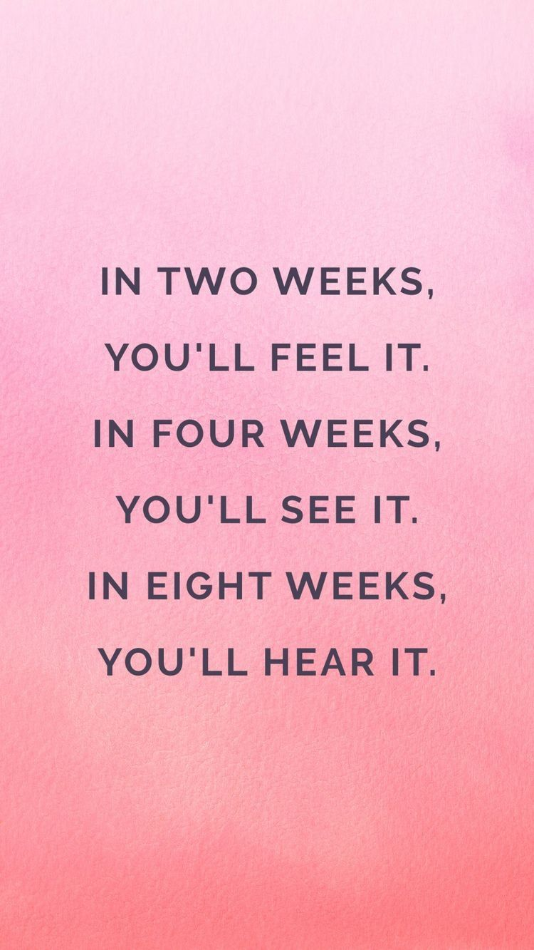 """Needed this reminder today. I'm at week 2 and feeling it, but was discouraged I'm not seeing more. Dumb!! I feel it so I know the progress is there. Trust the process Make it to 4 weeks and then Keep going!<p><a href=""""http://www.homeinteriordesign.org/2018/02/short-guide-to-interior-decoration.html"""">Short guide to interior decoration</a></p>"""