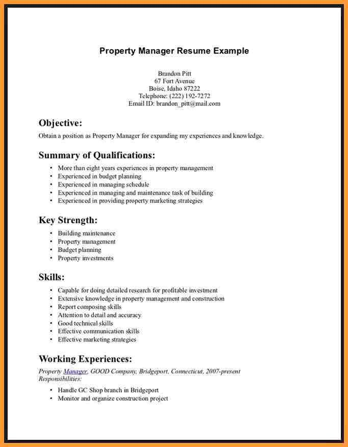 Examples Of Good Skills To Put On A Resume - Examples of Resumes