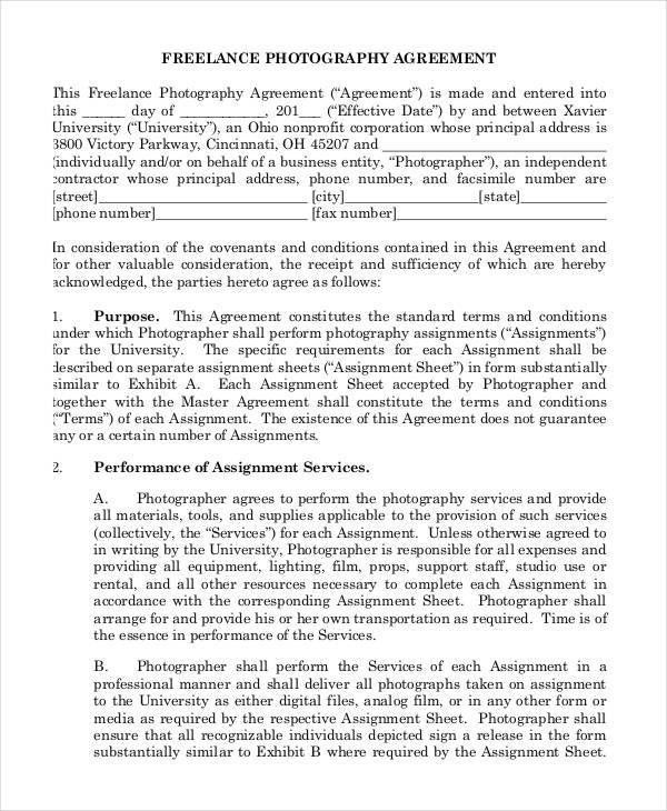 Film Contract Templates Industry Contract Template Free Contract - production contract agreement