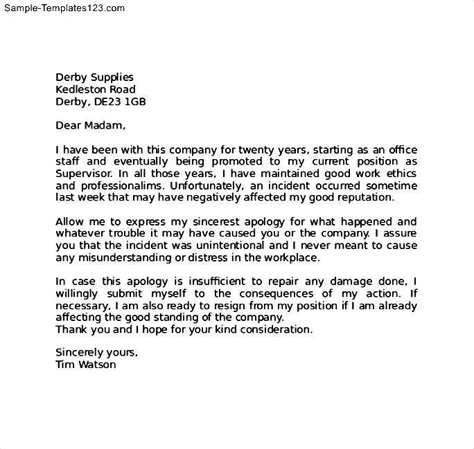 Sample business apology letter node2003 cvresumeasprovider sample business apology letter spiritdancerdesigns Choice Image