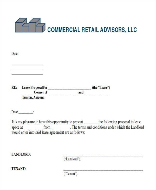 Business Lease Proposal Template Informal Business Proposal 26. Sample ...  Informal Proposal Template